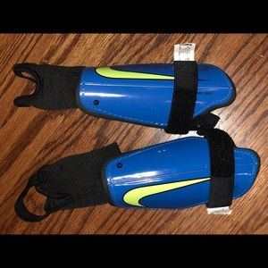 Nike shin guards - worn 1x
